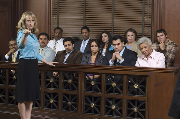 Trial: it's not like it is on television